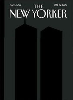 The New Yorker - cover by Art Spiegelman. So many New Yorker covers are interesting designs but this one has a certain resonance depicting the shadow of the twin towers post The New Yorker, New Yorker Covers, Skottie Young, Robert Mcginnis, Art Pulp Fiction, Pulp Art, Twin Towers, Illustration Arte, Magazine Illustration