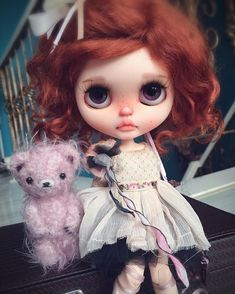 "108 Likes, 1 Comments - 十月天sun (@qdsy001) on Instagram: ""#blythecustom#blythe #blythedoll #customblythe #doll"""