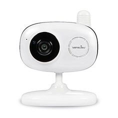 Wansview 1080P Wlan WiFi Wireless IP Sicherheits kamera mit Temperatur-und Feuchtigkeitssensor K1, Wei�