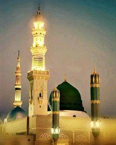 Masjid Nabawi saw. Islamic Images, Islamic Pictures, Islamic Art, Mecca Madinah, Mecca Masjid, Al Masjid An Nabawi, Masjid Al Haram, Mecca Wallpaper, Islamic Wallpaper