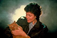 These images of Sigourney Weaver and the Alien cat will make your heart burst out of your chest · Great Job, Internet! · The A.V. Club