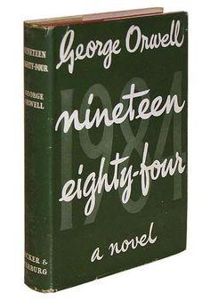 Nineteen Eighty-Four (1984). 1949. #book #design #vintage