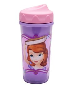 Loving this Sofia the First 8.7-Oz. Perfect Flo Sippy Cup on #zulily! #zulilyfinds