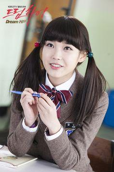I loved IU's character Pil Suk in Dream High Cute Korean Girl, Asian Girl, Dream High 2, Kdrama, Lee Hyun Woo, Kpop Hair, Best Dramas, Korean Dramas, Woo Young