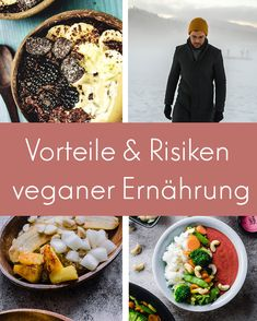 So gut oder schlecht ist die vegane Ernährung! Vegan Meal Plans, Diet Meal Plans, Veggie Diet, Vegan Challenge, Weight Loss Meal Plan, Meal Planning, Vegan Recipes, Veggies, Eat