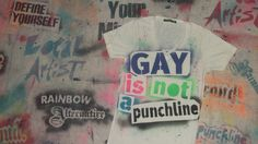 Gay is not a punchline shirt