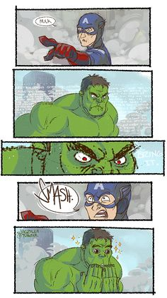 Hulk's best day ever.>>> THIS PICTURE MADE MY DAY THE BEST DAY EVER HAHA XD