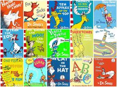 March was Dr. What are your top 3 favorite Dr. Seuss books of all time? Pick one of those books; Dr. Seuss, Good Books, My Books, Dr Suess Books, Children's Literature, The Book, Book Worms, Childhood Memories, Childrens Books