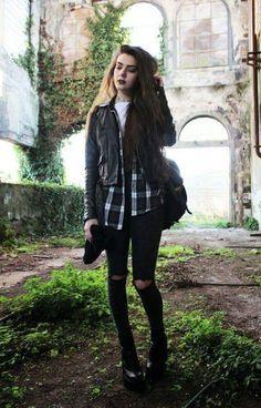 Cute Grunge Fashion Styling For Girls