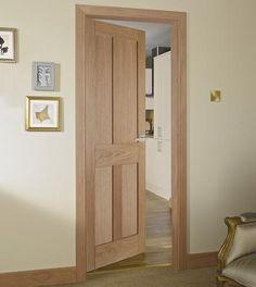Burford 4 Panel Oak door