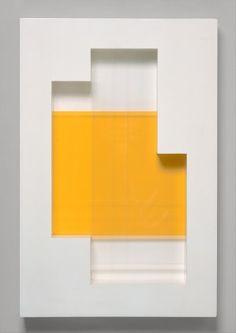 New York, Number 18, Painted wood and plastic, 78.7 x 54.6 x 10.2 cm, Charles Biederman, 1938.
