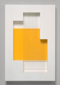 New York, Number 18, Painted wood and plastic, 78.7 x 54.6 x 10.2 cm, Charles Biederman, 1938.