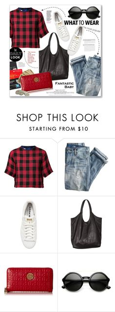 """""""Wear it..."""" by clovers-mind ❤ liked on Polyvore featuring rag & bone, J.Crew, adidas Originals, Jennifer Haley, Tommy Hilfiger, women's clothing, women's fashion, women, female and woman"""