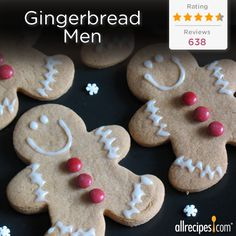 """These are a little milder than traditional gingerbread—great for kids who don't like 'spicy' cookies."" –Eriset 