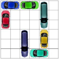 printable traffic jam game complete with printable puzzle books