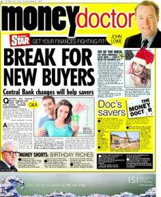 Irish Daily Star Money Doctor column 1st December 2016 Q