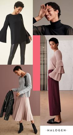 What is the Halogen collection all about? Bridging the gap between trendy and timeless with affordable work-to-weekend apparel. Dramatic bell sleeves, a convertible moto jacket and sailor-style crop pants are just a few of the go-to looks you can discover when you shop Halogen, sold exclusively at Nordstrom.