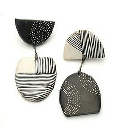 Kathleen Dustin earrings - sold out.  These could be made to work as clip-ons