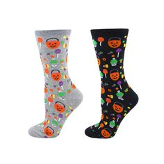 6db333ea91e 19 Awesome Halloween socks images
