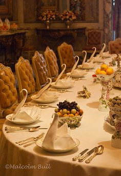 Dinner Table - Waddesdon NT (020) | Flickr - Photo Sharing!