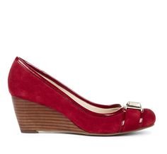 MARGARET buckle detail wedge @Pascale Lemay De Groof