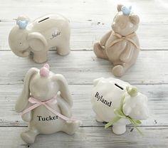 Ceramic Nursery Banks #PotteryBarnKids