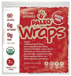 Paleo Snacks Book - Julian Bakery : Paleo Wraps : Gluten-Free : Grain-Free : 7 Individual Wraps : 6 Net Carbs -- You can find more details by visiting the image link. (This is an affiliate link) Paleo Wraps, Julian Bakery, Diabetes, Coconut Wraps, How To Make Quesadillas, Curb Appetite, Low Carb Pancakes, Gluten Free Grains, Snacks For Work