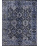 Dining room rug.  Overdyed wool rugs are trending now!  Aged look makes the traditional pattern more relaxed.  $960-1800.  RugStudio presents Surya Pazar Pzr-6000 Navy Hand-Knotted, Good Quality Area Rug
