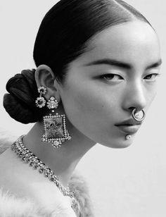 "philoclea: "" Fei Fei Sun by Mert & Marcus for Vogue Italia, June 2015 styled by Katy England """
