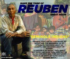 #Genesis49:3-4 Reuben, thou art my firstborn, my might, and the beginning of my strength, the excellency of dignity, and the excellency of power: Learn more at Israelunite.org #Genèse49:3-4 Ruben, toi, mon premier-né, Ma force et les prémices de ma vigueur, Supérieur en dignité et supérieur en puissance, Apprenez-en plus à Israelunite.org #IUIC #UsAgainstTheWorld #BlacksHispanicsNativeAmericans #BrothersAndSisters #Familia #Israelites Latino News, Seminole Indians, Sisters, Strength, Father, Learning, January, Bible, Art