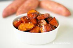 Crispy Sweet Potato in Caramelised Sauce (Goguma Mattang 고구마 맛탕)