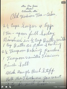 Old fashioned Tea cakes, thanks Pat Whittle Hancock for sharing. Tea Cake Cookies, Brownie Cookies, Cookie Desserts, Cookie Recipes, Cupcake Cakes, Cupcakes, Bundt Cakes, Sugar Cookies, Dessert Recipes