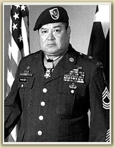 Master Sgt. Roy P. Benavidez. Medal of Honor. 5th Special Forces Group. Vietnam War.