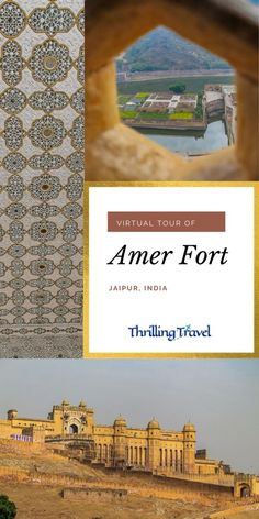 Take a virtual journey through one of the key things to see in Jaipur - Amer Fort or Amber fort. This travel guide to Amer Fort Jaipur shares its history, key attractions of Jaipur fort and useful tips to visit. #ThrillingTravel #TravelDestination #India #Jaipur #AmerFort #RajasthanTourism Travel Destinations In India, Bali Travel, India Travel, Travel Guides, Travel Tips, Amer Fort, Group Travel, Vietnam Travel, Culture Travel