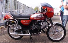 Small Motorcycles, Mini Bike, Street Bikes, Sport Bikes, Custom Bikes, Old Friends, Motorbikes, Vintage, Germany