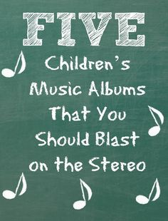 5 Children's Music Albums That You Should Blast on the Stereo