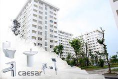 Những khu nhà ở xã hội nên lựa chọn thiết bị vệ sinh Caesar giá rẻ mà thời gian sử dụng được dài lâu