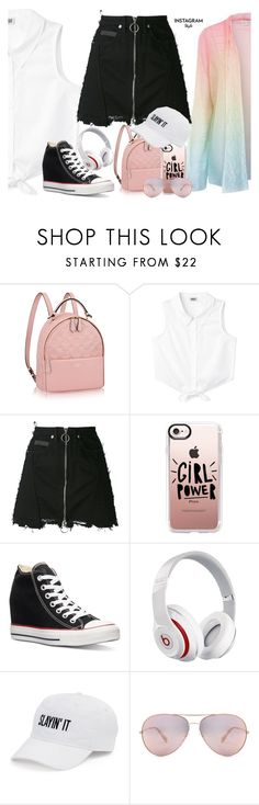 """Instagram Style"" by marialoveswednesdays ❤ liked on Polyvore featuring County Of Milan, Casetify, Converse, Beats by Dr. Dre, SO, 60secondstyle and PVShareYourStyle"