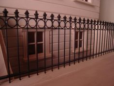 How to make your own metal railings from Barbara Brear Miniatures