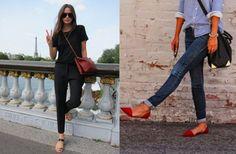 How to wear flats | Dress Like a Parisian