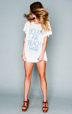 Oliver Tee - Ocean Air Beach Hair Graphic | Show Me Your MuMu