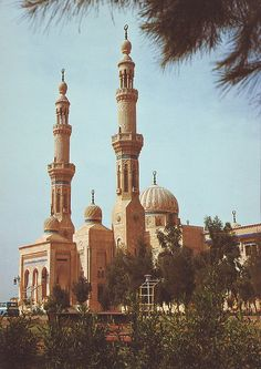 Baghdad, Iraq.....it is really beautiful there!