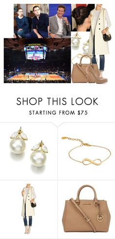 """Watching a New York Knicks game at Madison Square Garden with Jack and Mel"" by swedish-princess ❤ liked on Polyvore featuring Brunello Cucinelli, Merci Maman, Gianvito Rossi, Michael Kors and L.K.Bennett"