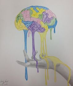 Brain Melt: Process of Creativity by CreativeExistence.deviantart.com on @deviantART