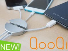 QooQi aluminum cable organizer will keep a college student's tiny dorm desk neat and clean. #easydorm #dormitems #collegedorm Clever Inventions, New Inventions, Gadgets And Gizmos, Tech Gadgets, Really Cool Gadgets, Dorm Desk, Dorm Room, Cool Kitchen Gadgets, Kitchen Tips
