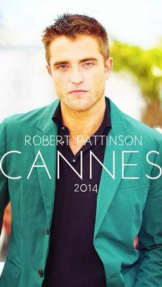 Robert Pattinson Cannes 2014