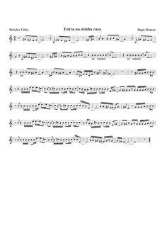 Partituras Musicais: Entra na minha casa - Regis Danese - n.º 33