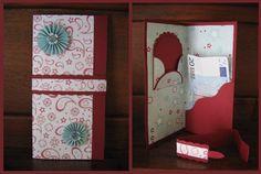 Cartes Pochettes Porte-billet ou Chèque Birthday Money, Money Cards, Homemade Christmas Cards, Pocket Cards, Cardigan, Xmas Cards, Home Deco, Mini Albums, Pop Up