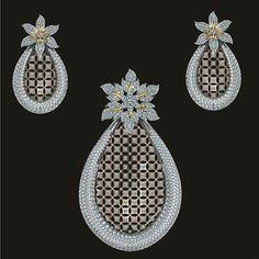 Regardez cette photo Instagram de @laila_mucevherat • 257 mentions J'aime Pendant Set, Gold Pendant, Diamond Pendant, Pendant Jewelry, Pendant Necklace, Real Gold Jewelry, Gold Jewellery, Gold Ring Designs, Diamond Design