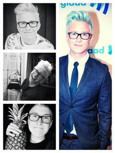 Tyler Oakley ♡ he is probably the most genuine youtuber and he truly cares about his fans